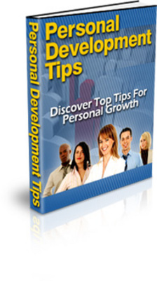Product picture Personal Development Tips With Private Label Rights